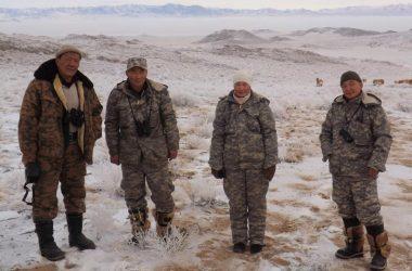 Ranger Network in Khomyn Tal National Park